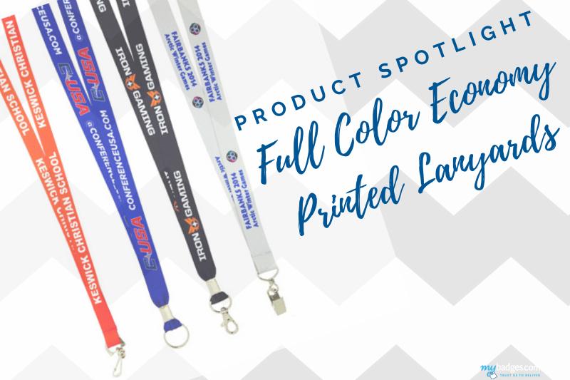 Product Spotlight: Full Color Economy Lanyards