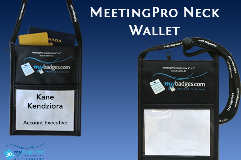 Product Spotlight: MeetingPro Neck Wallets