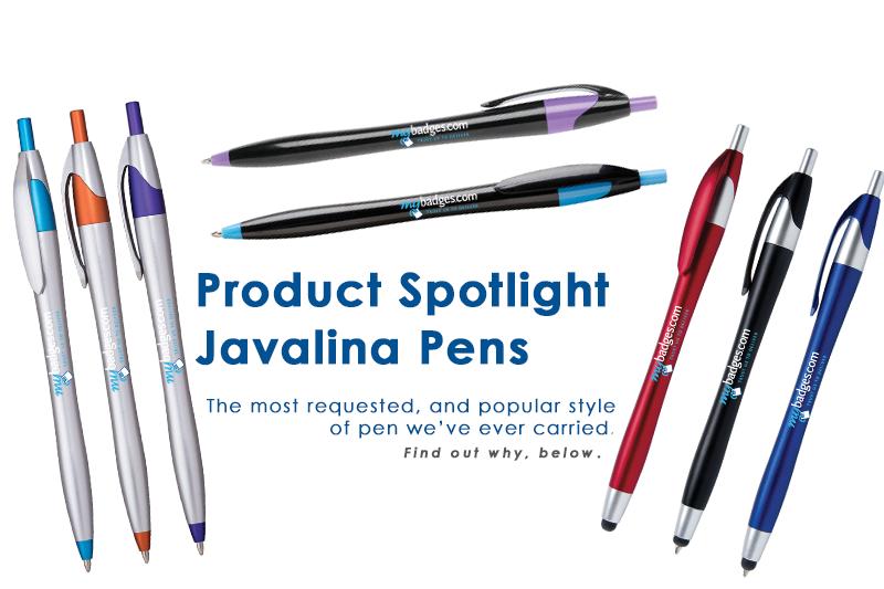 Product Spotlight: Pens