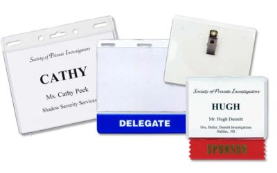 The Importance of Name Badges at Your Event