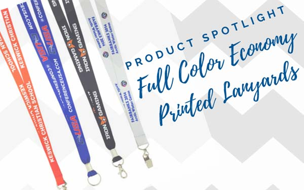 Product Spotlight: Full Color Economy Lanyards
