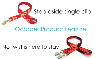 Product Feature: Lanyards are meant to be seen, not twisted