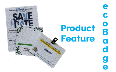 Product Feature: The ecoBadge – Launched at CSAE!