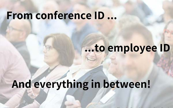 Swivelling to Employee ID