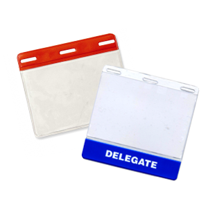 Color Coded Badge Holders