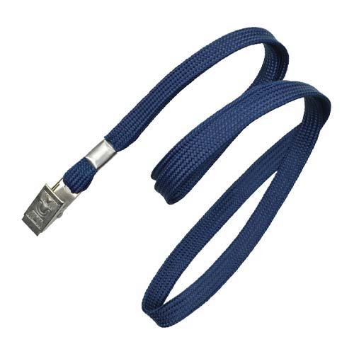 employee lanyards blue