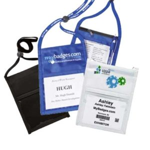 neck wallets for conferences