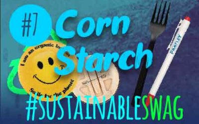 #7 Corn Starch Promotional Products – Eco Friendly Conference #sustainableswag