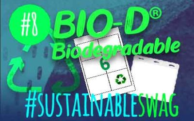 #8 Dio-D Biodegradeable Promotional Products – Eco Friendly Conference #sustainableswag