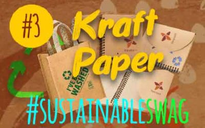 #3 Kraft Paper Promotional Products – Eco Friendly Conference #sustainableswag
