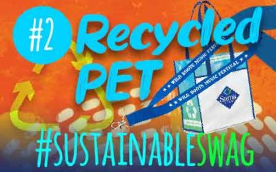#2 Recycled PET Plastic Promotional Products – Eco Friendly Conference Tips #sustainableswag