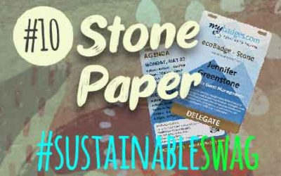 #10 Stone Paper Promotional Products – Eco Friendly Conference #sustainableswag